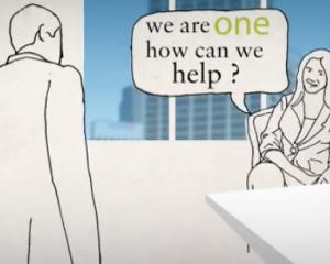 line-drawn animation